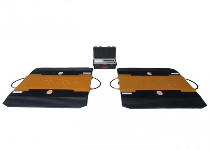Trucks / Cars Portable Weighbridge Pads Pass Scale Speed ≤5km/h Integrated Design