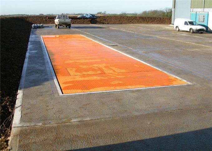 Full Steel Surface Mounted Weighbridge , Truck Weight Scale 5 - 10kg Accuracy