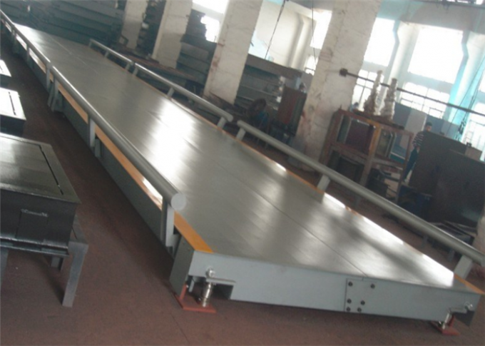 U Shaped Beam Road Weighbridge Truck Scale Type With 4 ~ 6mm Thickness Steel Plate