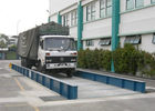 China Simple Structure Load Scales For Trucks , 80 Ton Weighbridge U Steel Scale Body factory
