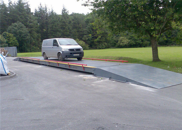 High Intensity Digital Truck Scales 6m - 24m Length Fine Appearance Platform