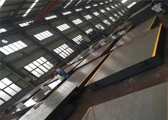 Robust Structure Industrial Weighbridge / Local Weighbridge High Accuracy Load Cell