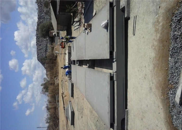 Drive Through Portable Weighbridge , Heavy Duty Steel Modular Weighbridge