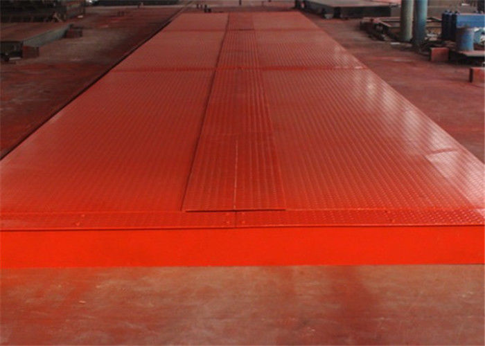 Electronic Weighbridge / Steel Deck Weighbridge 6mm Thick Strong U Shaped Structure
