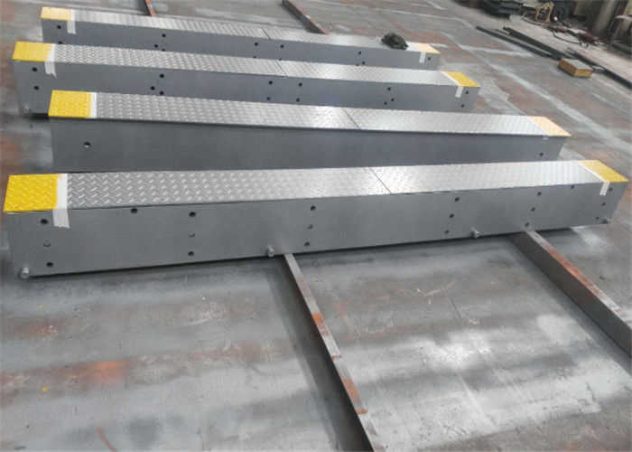 Safe Steel Deck Weighbridge 12mm Thick Steel Surface Avoid Truck Scale Bending