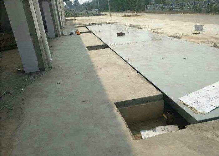 Accuracy 20 Kgs Ultimate Steel Deck Weighbridge With Digital Load Cell