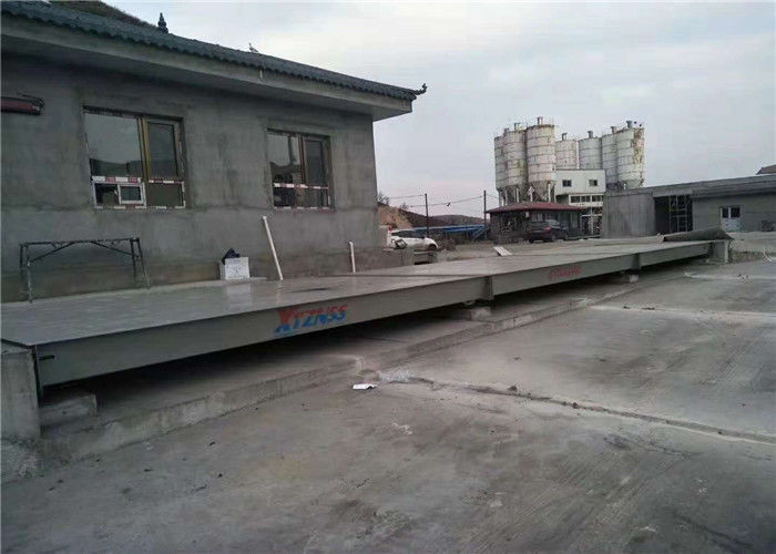 Anti Corrosion Painting Movable Weighbridge Shot Blasting Clean All Dirty Before Painting