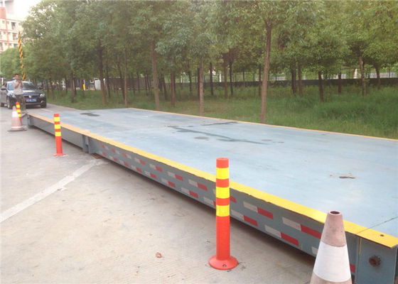 100 Ton Electronic Pitless Type Weighbridge 440mm Installation Height 20kg Index Value
