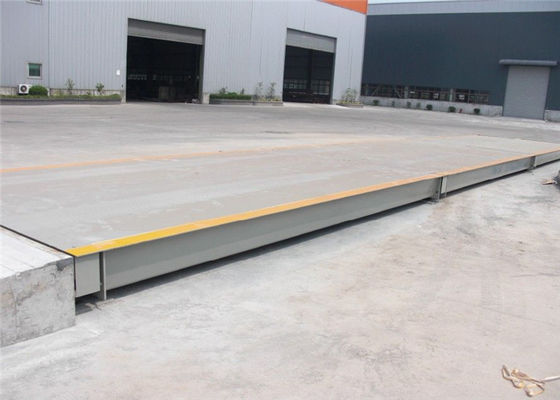 China Data Transmission 100 Ton Weighbridge Power Consumption 12V DC Digital Display factory