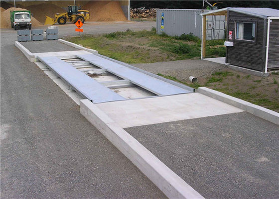 Industrial Pitless Type Weighbridge 60 Ton AC 220V / 50Hz Power Supply