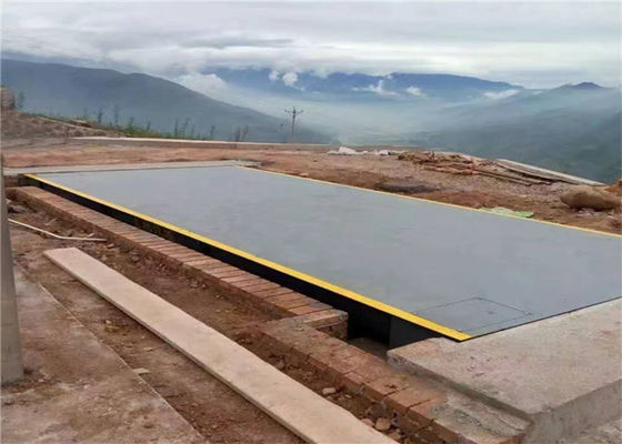 Full Steel Modular Weighbridge System / Digital Weighbridge 120 Ton Max Capacity