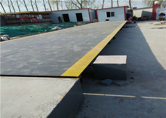China Modular Truck Weighbridge IP68 Sensor Protection Long Term Stability factory