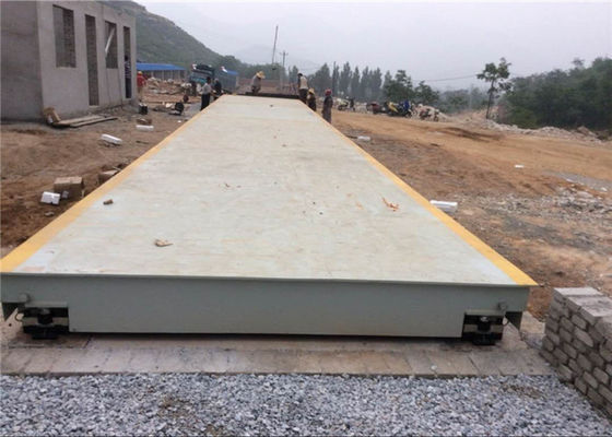 China Vehicle Weight Scale Electronic Weighbridge / Portable Weighbridge 5s Stable Time factory