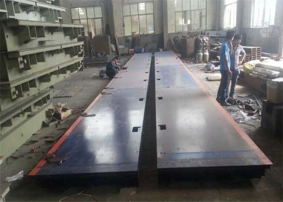 3*15m 120 Ton Electronic Lorry Weighbridge Anti Corrosion Painting Easy Assembly