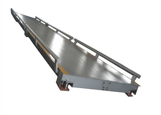 China Commercial Truck Scales / Truck Weighing Systems Anti Rust And Anti Corrosion Painting factory