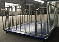 Galvanized Livestock Weighing Scales 110mm Height Omniseal Internal Cavity